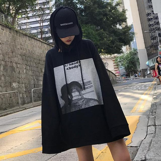Harajuku Mode Sweat Streetwear Style 2018 Femmes Shirts De Automne vwxaqrgv