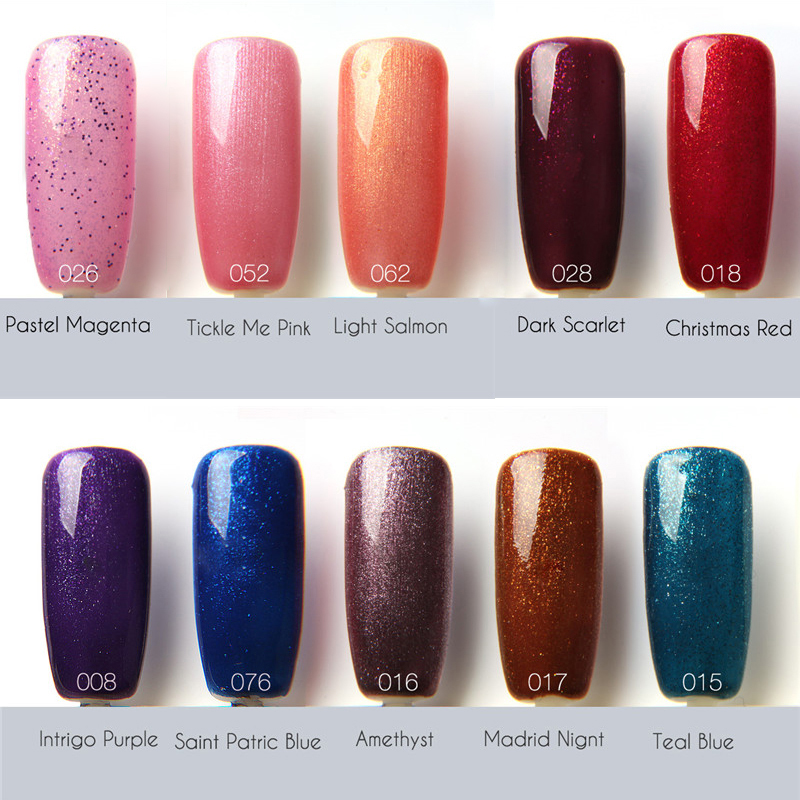 7ml FOCALLURE Brand Nails Art Soak Off Gel Polish Long Lasting ...