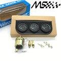 52MM 3 In 1 Oil temp meter +water temp gauge +Oil Pressure Gauge Kit car meter/ auto Gauge /Triple tachometer