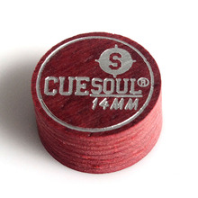 CUESOUL New soft Laminated Leather Tip -Soft - Single cue Tip