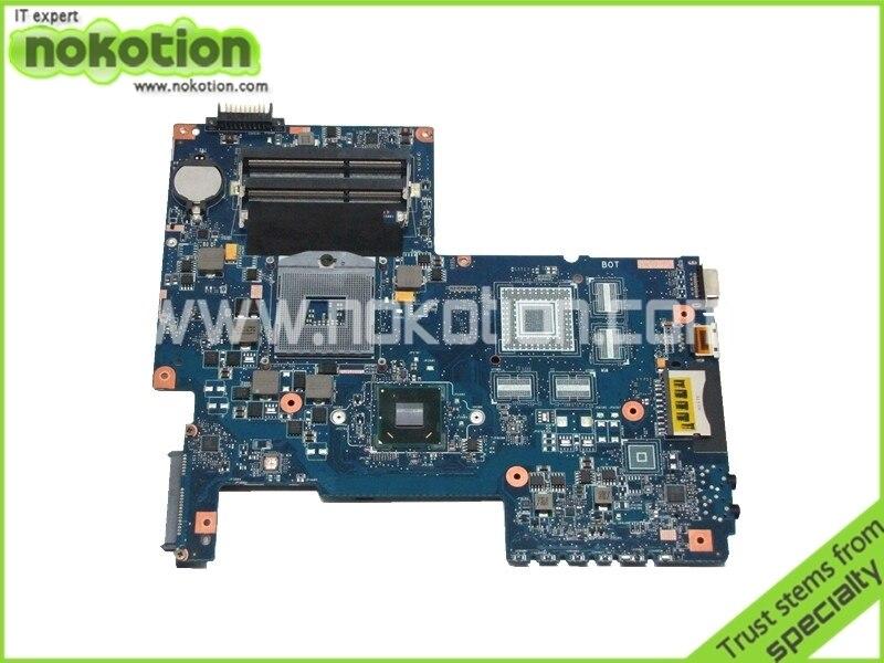 ФОТО Laptop motherboard For Toshiba Satellite C675 Intel hm65 DDR3 PN H000033480 08N1-0NA1J00