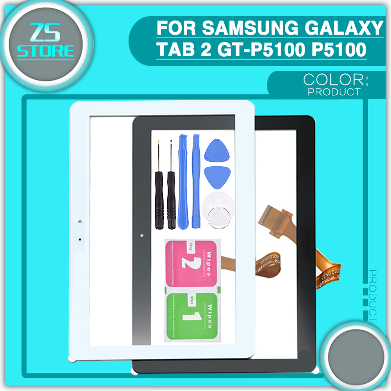 10.1'' inch P5110 touch screen for Samsung Galaxy Tab 2 GT-P5100 P5100 P5113 Touch Screen Digitizer Repair Panel with Tools blackview e7 touch screen high quality glass panel touch screen digitizer for blackview e7s mobile phone with repair tools
