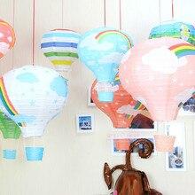 AJP 1PC wedding birthday decoration paper lantern hot air balloon birthday party arranged marriage nursery corridor Charm