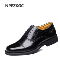 NPEZKGC Big size 38-47 Genuine Leather Men Casual Shoes Luxury Brand Men Shoes Leather Shoes Men High Qulaity Men Flats