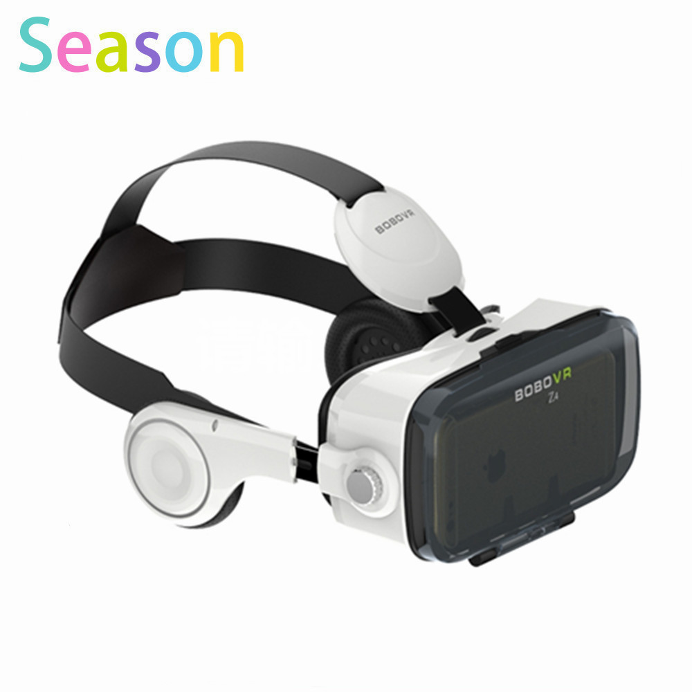 Xiaozhai Z4 <font><b>BOBOVR</b></font> <font><b>VR</b></font> Z4 3D <font><b>VR</b></font> Box <font><b>Virtual</b></font> <font><b>Reality</b></font> Headset 3D Movie Video Game <font><b>Private</b></font> Theater with Headphone+Bluetooth Remote