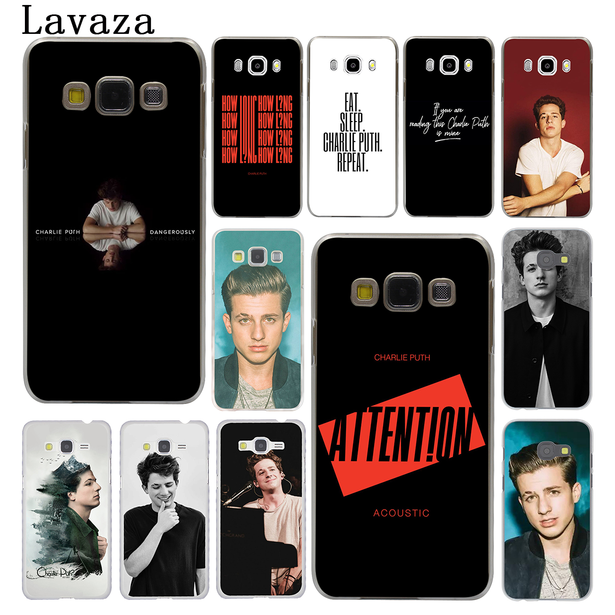 US $1 92 26% OFF|Lavaza charlie puth attention Collage Hard Phone Case for  Samsung Galaxy J6 J7 J1 J2 J3 J5 2015 2016 2017 Prime Cover Cases-in