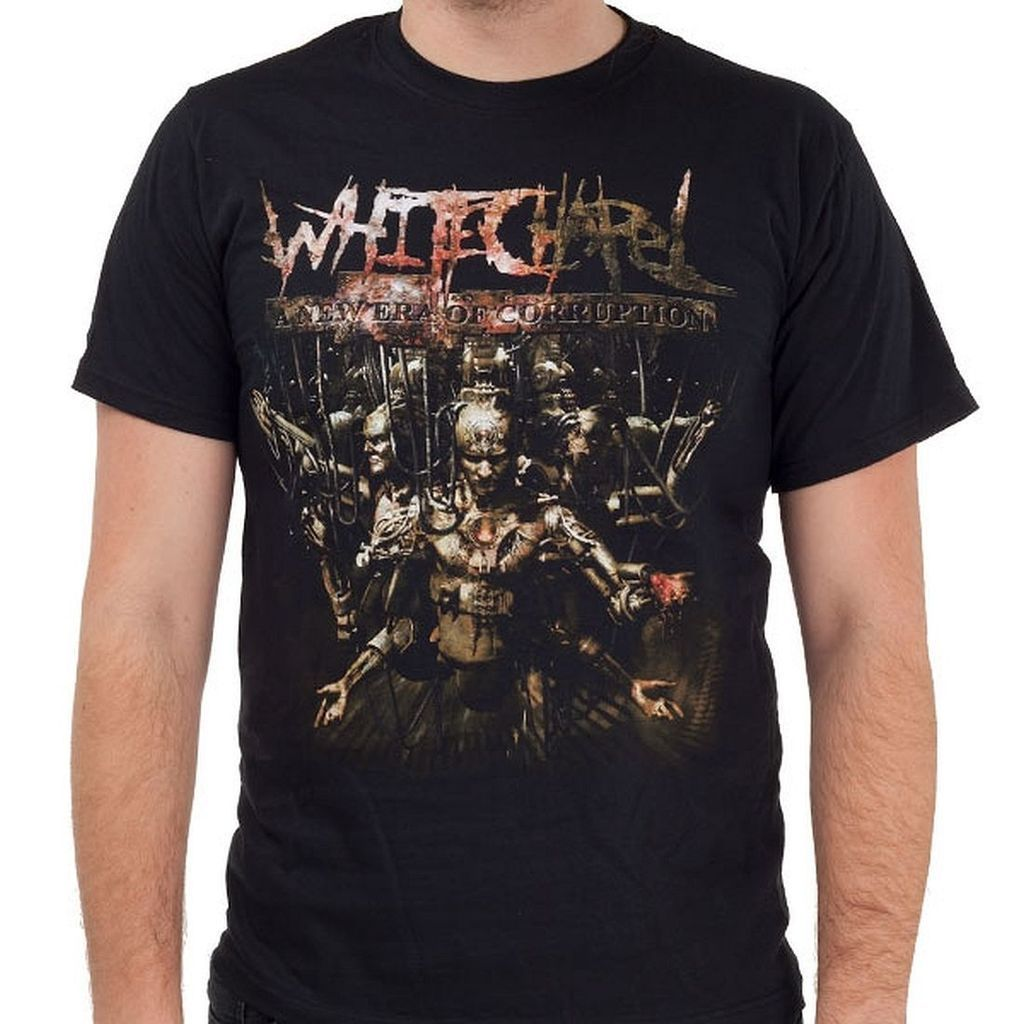 Whitechapel A New Era of Corruption Shirt T-Shirt Summer Style Men T Shirt top tee