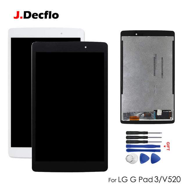 US $22 9 30% OFF|LCD Replacement For LG G Pad 3 III G Pad3 GPAD X 8 0''  V520 V521 LCD Screen Display +Touch Digitizer Assembly Spare Parts-in  Tablet