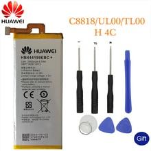 Huawei Original Phone Battery HB444199EBC+ For Huawei honor 4C C8818 CHM-UL00 CHM-TL00H CHM-CL00 Replacement Batteries 2550mAh стоимость