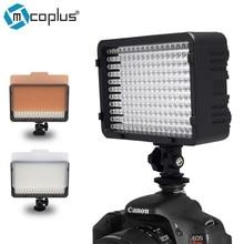 Mcoplus 322 led regulável luz de vídeo lâmpada para canon nikon pentax sony olympus câmera digital slr