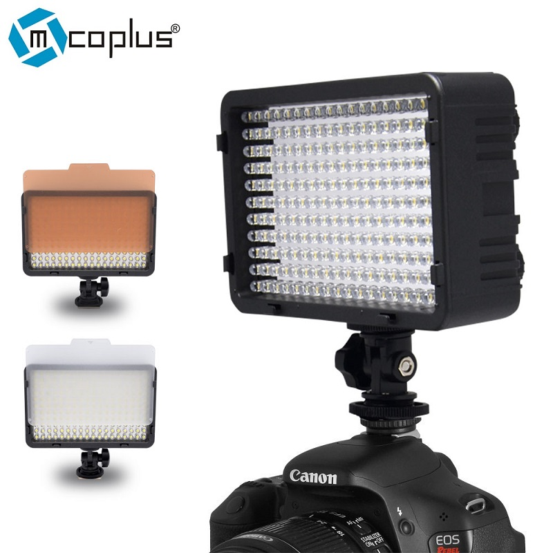 Mcoplus 322 LED Dimmable Video Light Lamp for Canon Nikon Pentax Sony Olympus Digital SL ...