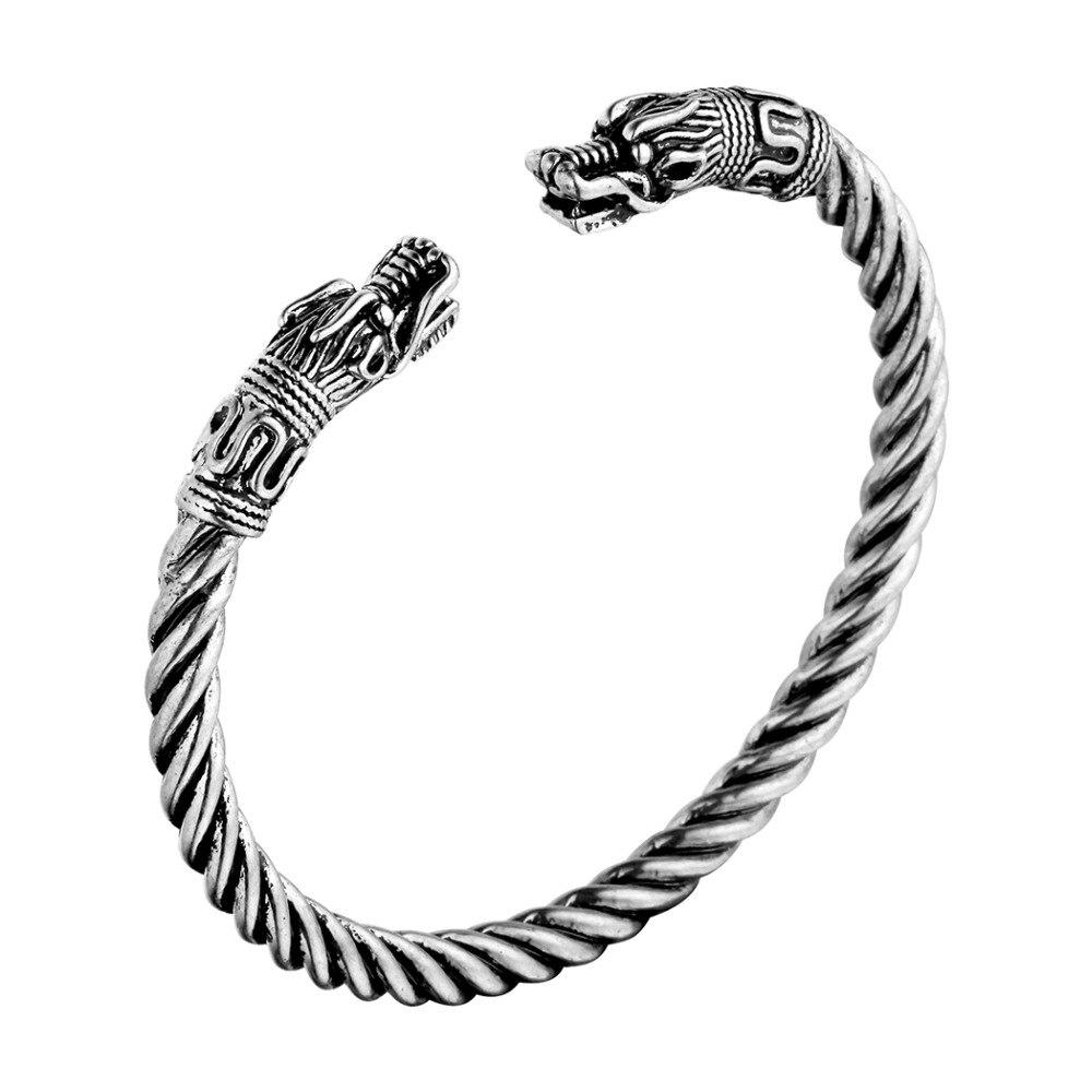 Bracelet homme rétro nordique Viking 2