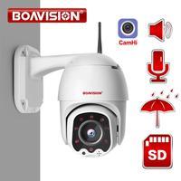 1080P Wireless MINI PTZ IP WIFI Camera Speed Dome 2MP CCTV Security IP Camera ONVIF Outdoor IR 30M Two Way Audio P2P APP CamHi