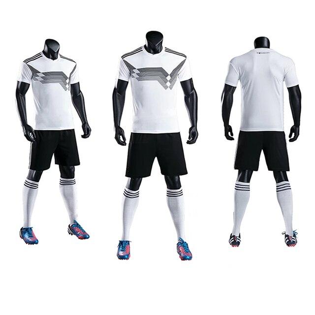 80cdb55cd3 2018 Jogo de Futebol Alemanha camisas de futebol Sportswear Adulto    Tamanhos Crianças Treinamento De Futebol