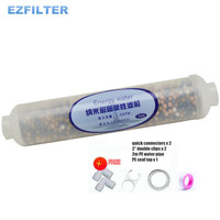 T33 10 inches Nano Magnetic Weak Alkaline Water Filter Cartridge Energy Drinking Water For RO Water Purifiers
