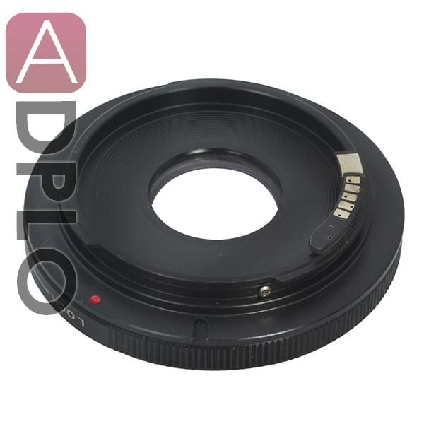 For FD-EOS 2nd Adjustable Optical AF Confirm Adapter Suit For Canon FD Lens To EOS EF 60D 550D 7D 5D Mark II 600DCamera (Non-AF)