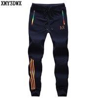XMY3DWX 2017 Men Sweatpants Striped Harem Pants Brand 2017 Joggers Slim Fit Skinny Men S Hip