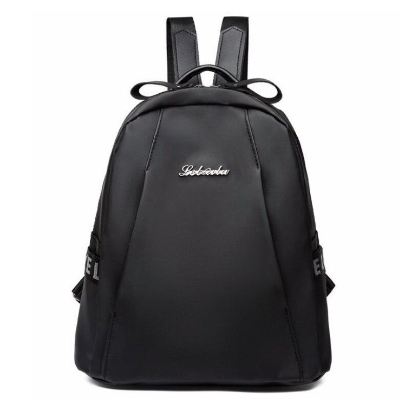 4ef948f22958 Для женщин Повседневное нейлоновый рюкзак обувь для девочек Письмо печати  школьные ранцы женский колледж студент Mochila