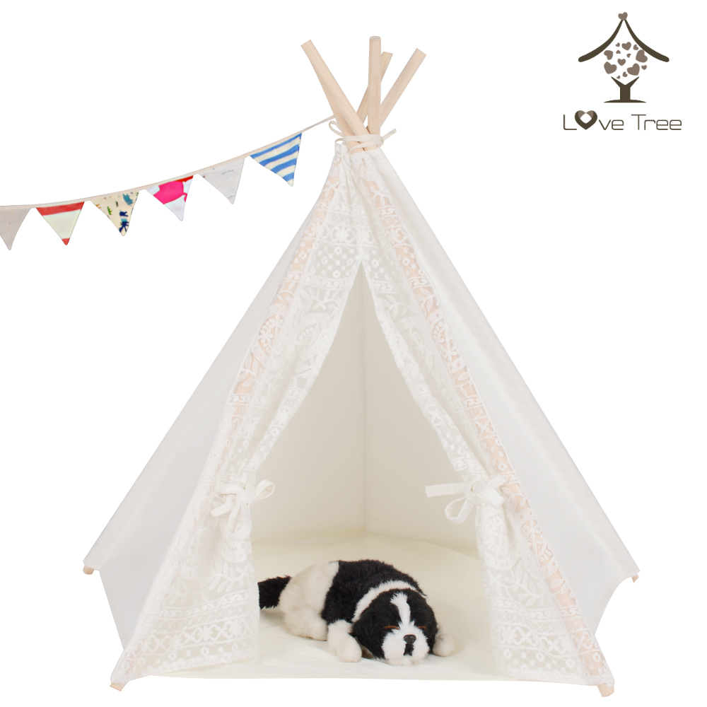 LoveTree Pet  Tent Dogs Cats Bed Room Dog Show Tent Tipi professional pet electric push cats and dogs rechargeable dog shaver teddy electric fader dog shaving knife