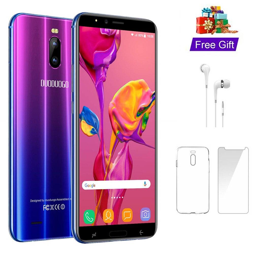 4G LTE DUODUOGO J6 + Telefone Móvel Android 16 2GB RAM GB 6.0