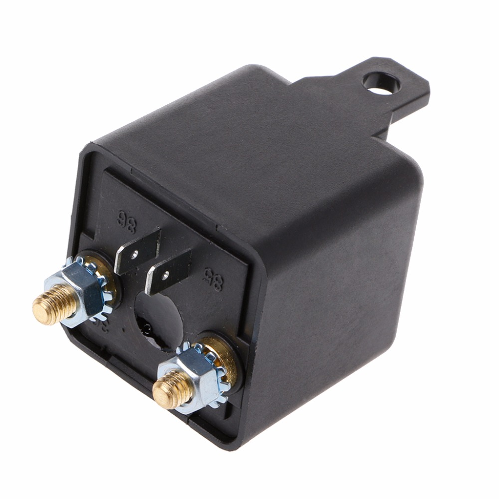 DC 12V 100Amp Start Relay 4Pin Heavy Duty ON/OFF Switch Split Charge Relay For Auto Car 200a dc12v 24v 48v relay 4 pin for car auto heavy duty install car starting relay for amp style high power