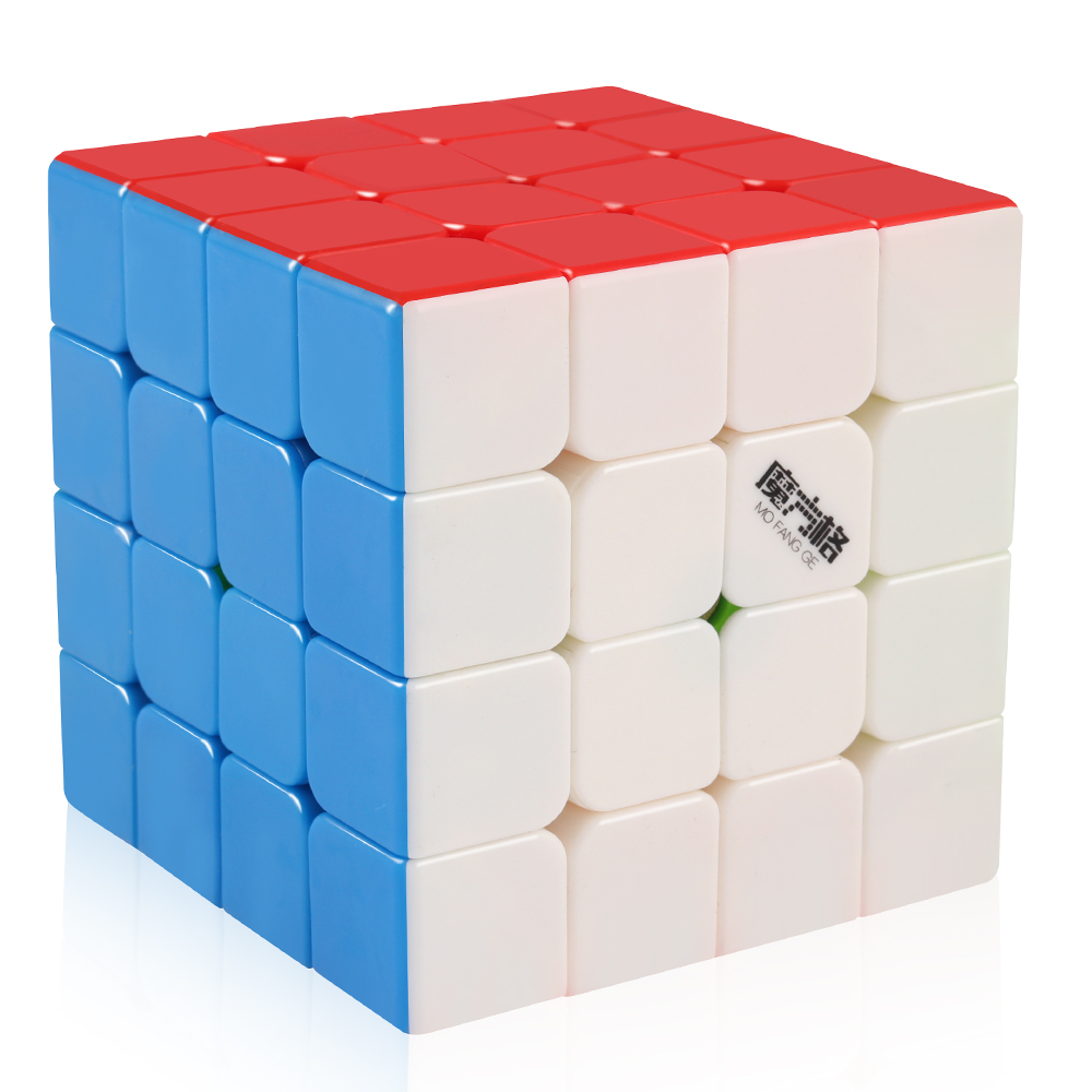 D-FantiX Qiyi Wuque 4x4 Speed Cube Stickerless Magic Cube 4x4x4 Puzzle 62mm