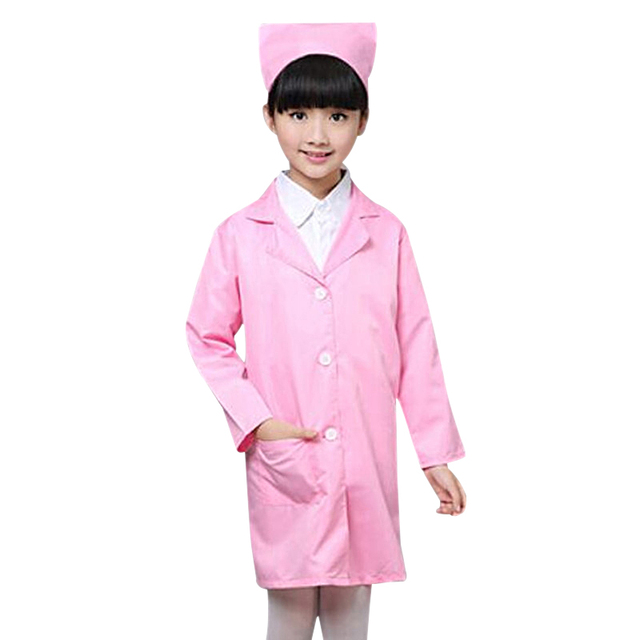 children halloween cosplay costume kids doctor costume nurse uniform girls boys game clothing wear clothing for - Kids Doctor Halloween Costume