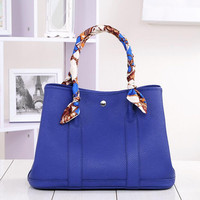 Casual Garden Party top handle bags Women Genuine Real Leather Big Capacity Totes Famous Brand Shoulder Purse