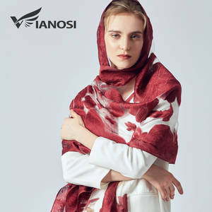Ladies Scarves Hijab Embroidery Lace Beach-Stoles Luxury Bandana Brand Shawl Women Summer