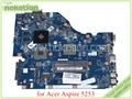 Mb. ncy02.001 p5we6 la-7092p rev 1.0 mbncy02001 para acer aspire 5250 5253 motherboard ati 7400 m ddr3