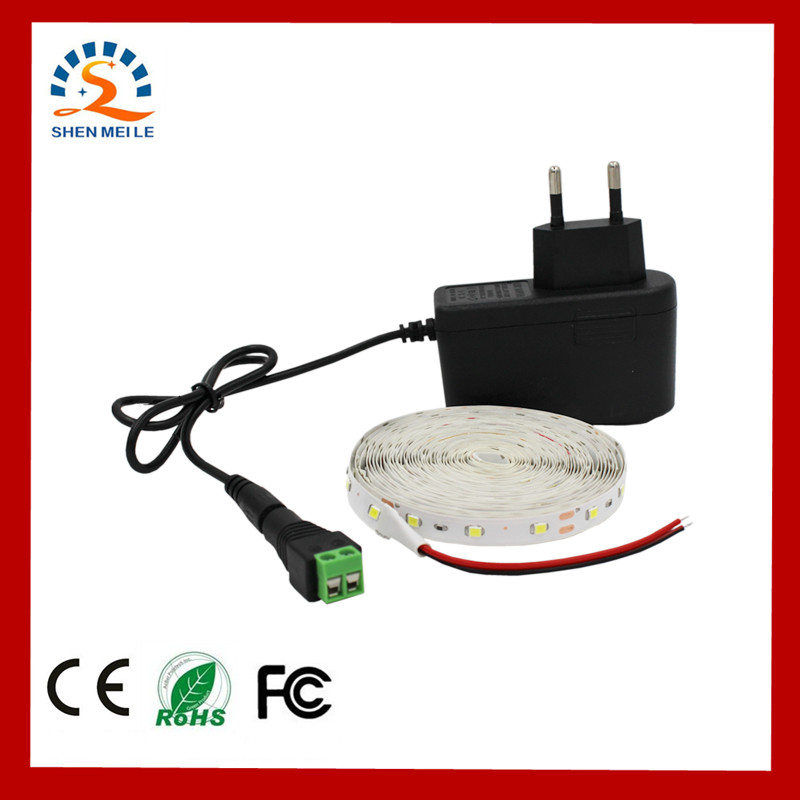 1m 2m 3m 4m 5m LED Strip Light SMD2835 12V DC Ultra Bright LED Ribbon Flexible red RGB Blub warm white 42w 625nm 16lm 60x5050 led red light strip 3m length dc 12v