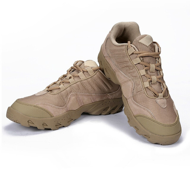 Outdoor Desert Boots The U.S Military Assault Tactical Boots Breathable Wear Slip Men Casual Travel Hiking Shoes Botas Tacticas
