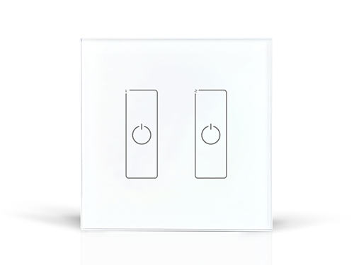 DA2 DALI touch Dimmer;2CH DALI digital dimming signal output da6 ltech dali dimmer dali digital dimming signal output