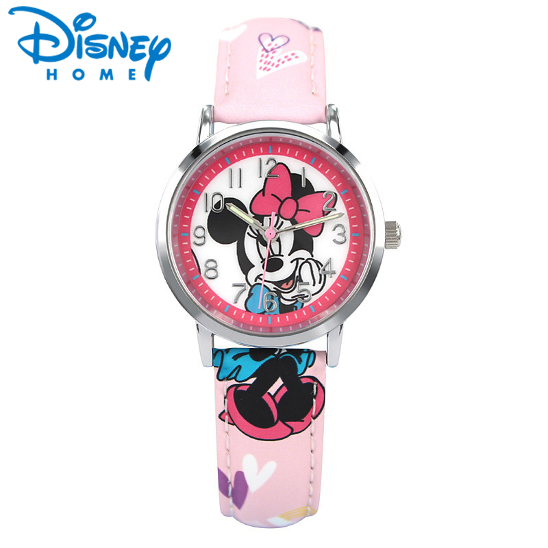 Luxury Brand 100% Genuine Disney Brand Watches Frozen Sophia Minnie Watch Fashion Luxury Watch Men Girl Wrist Watch Sinowatch Watches