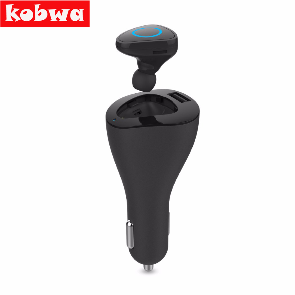 R6000 Mini Stereo car bluetooth headset wireless earphone Portable Wireless Bluetooth Earphone USB Dock Car Phone Charger 2 in 1 remax rb t11c t11c mini bluetooth earphone usb car charger dock wireless car earphone bluetooth earphone for iphone7 android