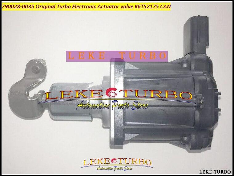 все цены на Turbo ELECTRONIC BOOST ACTUATOR 790028-0035 790028 Original Turbo Electronic Actuator valve K6T52175 CAN Turbocharger parts онлайн
