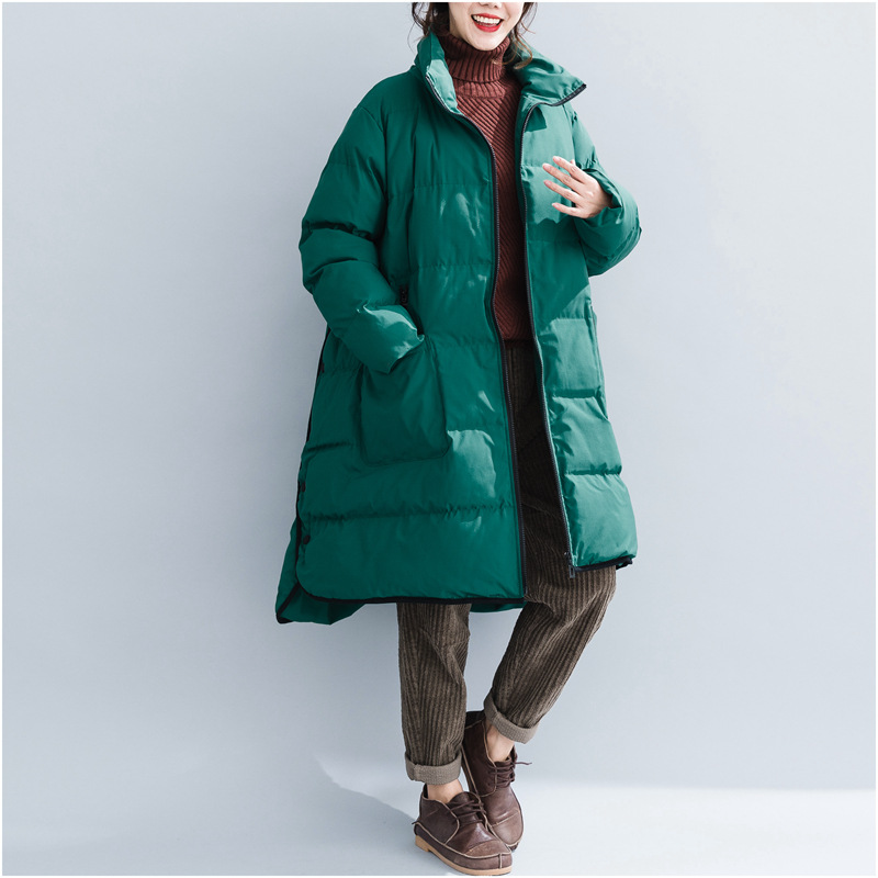 Thicken Warm Female   Down     Coats   Oversize Winter Outerwear Women Parka Jacket