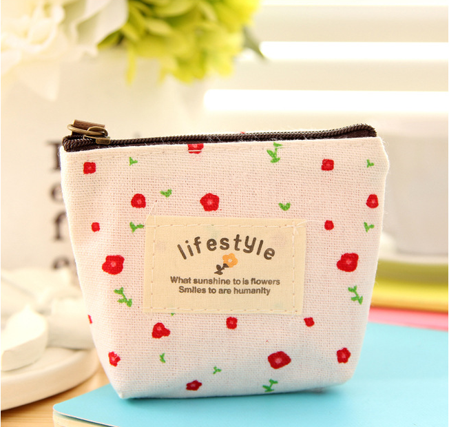 2016 Coin Bag Creative Flower Women Coin Purses Fresh Syle Key Wallets Canvas Girls Gift Wallets Small Purse 2016 coin bag creative flower women coin purses fresh syle key wallets canvas girls child gift wallets small purse b0234