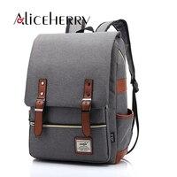 2017 Vintage Canvas backpack Women's backpacks school bag for Teenage girls bagpack travel rucksack mochilas mujer Fashion