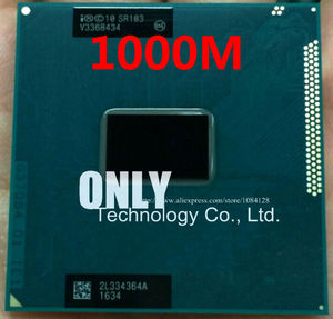 free shipp Original Intel Mobile Celeron cpu processor 1000M 1.8GHz L3 2M dual core Socket G2 / rPGA988B