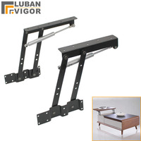 Coffee table hydraulic lifting frame/support,Multi function buffer,Computer table lifter,Furniture Hardware,fittings
