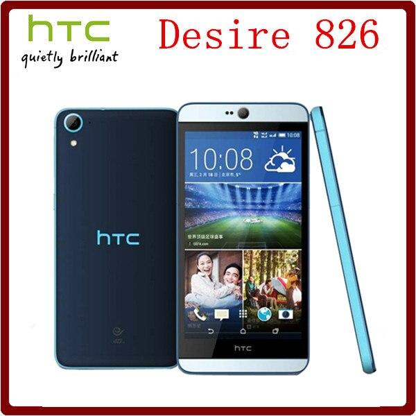 bilder für Ursprünglicher frei HTC Desire 826 Octa Core 5,5 ''13MP Kamera 2 GB RAM + 16 GB ROM 1080 P GPS WIFI Smartphone Kostenloser Versand