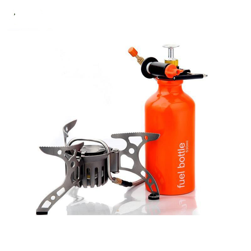 BRS-8 Multi Oil portable ra3a gas adapter outdoor camping gas cooker picnic stove brothers field gasbrander brs 8 oil gas multi use stove camping stoves picnic gas stove outdoor cooking stoves with retail box with gas refill adapter
