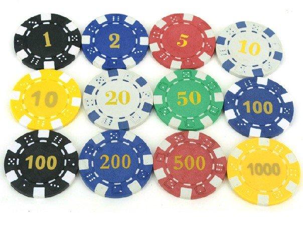 Texas Holder'em chips Baccarat chips Blackjack chips Clay ...