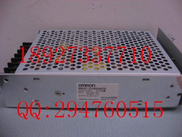 цена на [ZOB] 100% new original OMRON Omron Switching Power Supply S8JC-Z10024CD 100W DC24V --5PCS/LOT