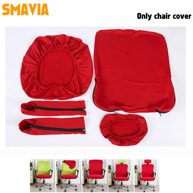 Pure Color Separate Style Office Chair Cover Easy-install Elastic Computer Chair Cover(5pcs include Armrest Cover) Accept Custom  sc 1 st  AliExpress & Pure Color Separate Style Office Chair Cover Easy install Elastic ...
