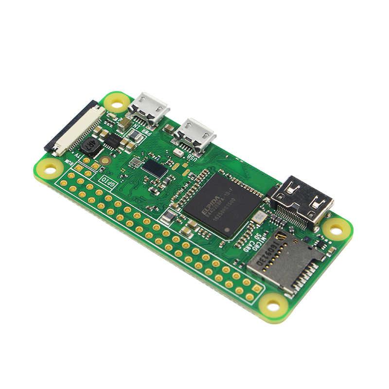Оригинальный Raspberry Pi Zero W Плата 1 ГГц процессор 512 Мб оперативной памяти со встроенным Wi-Fi и Bluetooth RPI 0 Вт