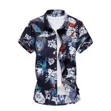 cf47167574a025 20 style lato koszula mężczyzna dorywczo krótkim rękawem męska kwiatowe  koszule hawaje dorywczo mężczyzna kwiat drukuj