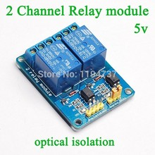 2 Channel Relay Module relay  board 5V Low level triggered 2 way relay module for arduino