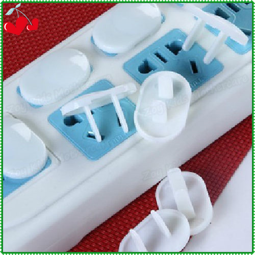 30 Pcs Lot Abs Plastic Outlet Cover 2 Hole Feet Pinks Plug